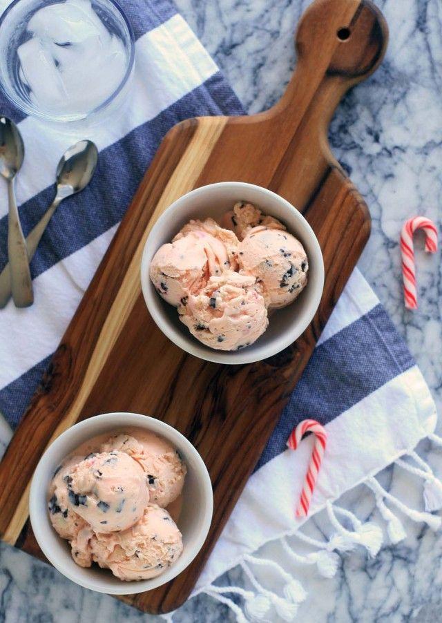 Peppermint Bark Ice Cream | Icecream | Pinterest