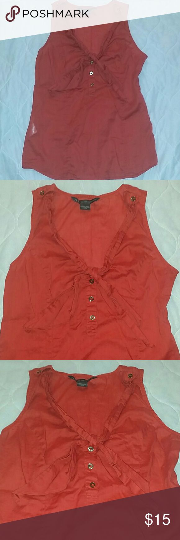 Armani Exchange Top Armani Exchange Top | Size XS | Red Armani Exchange Tops