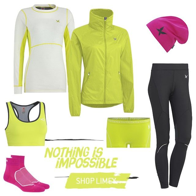 """Nothing is Impossible!  2 of 5 looks from our """"Vibrant Outdoor Training-series"""" Spring 2014  http://www.karitraa.com/all-products/featured/look-2.html"""