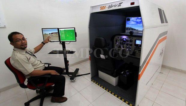 Anak Bangsa yang Mampu Membuat Simulator Pesawat