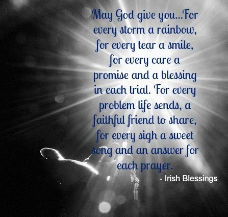 smile, Irish blessing and Quotes about god on Pinterest