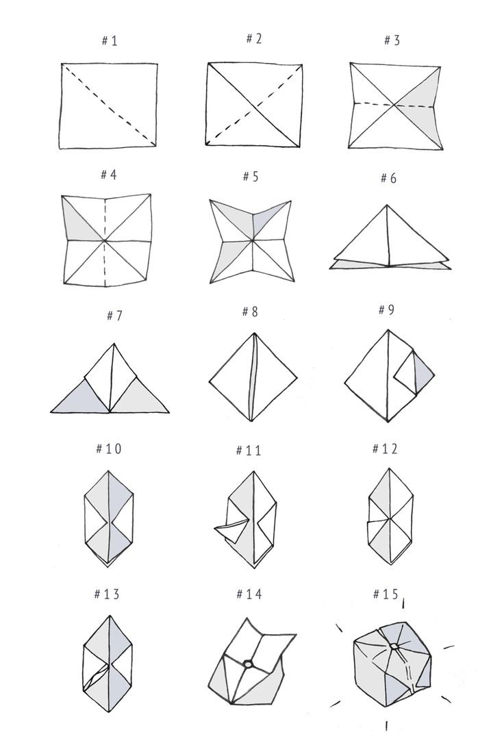 DIY: origami cube | Craft & DIY | Pinterest | Videos ... - photo#16