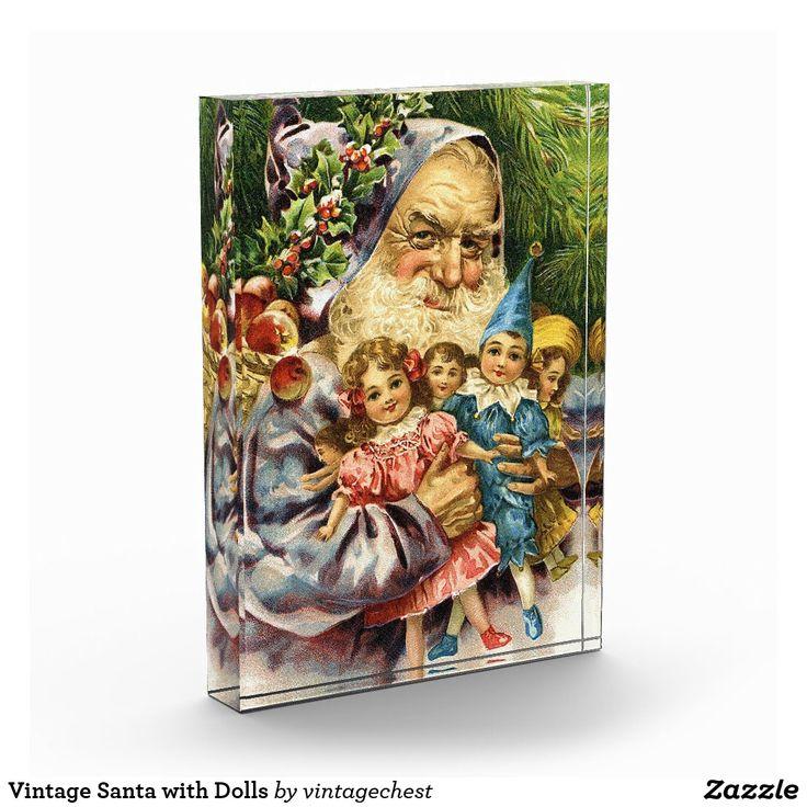 Vintage Santa with Dolls Award