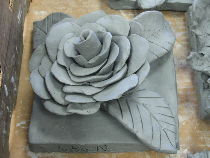 4th grade ceramic flower sculpture greenware art teacher for Cool ceramic art