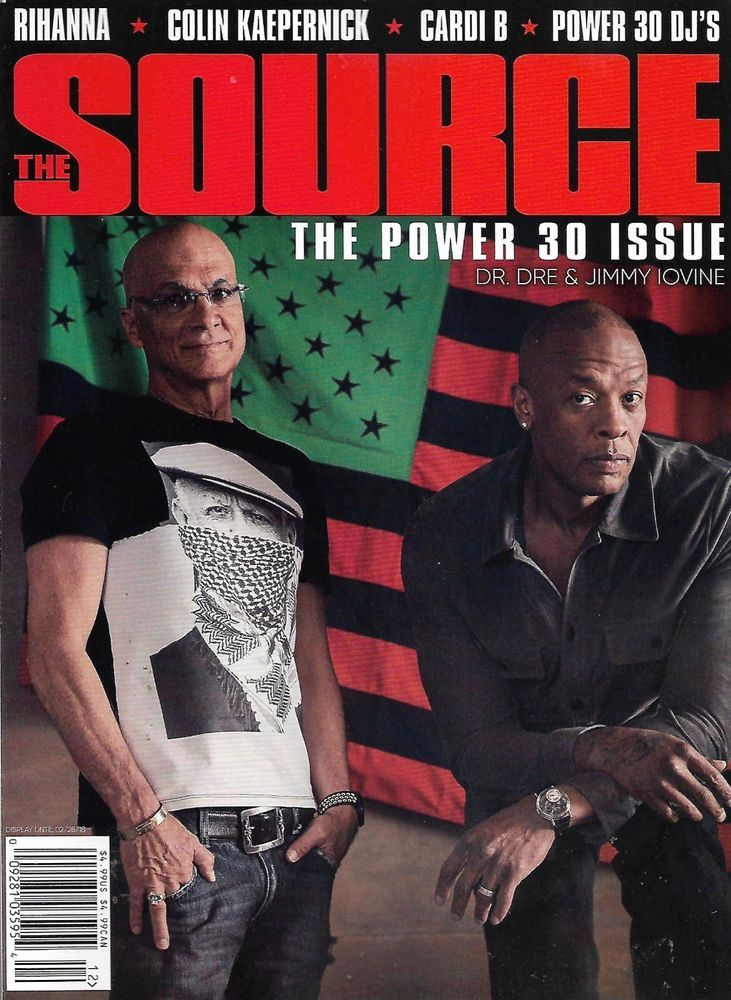 THE SOURCE December January 2018 Issue 273 POWER 30 ISSUE, DRE, JIMMY IOVINE