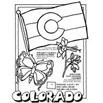 Good idea - Share some fun facts with your sponsored child about the state you live in with these Coloring Pages from crayola.com