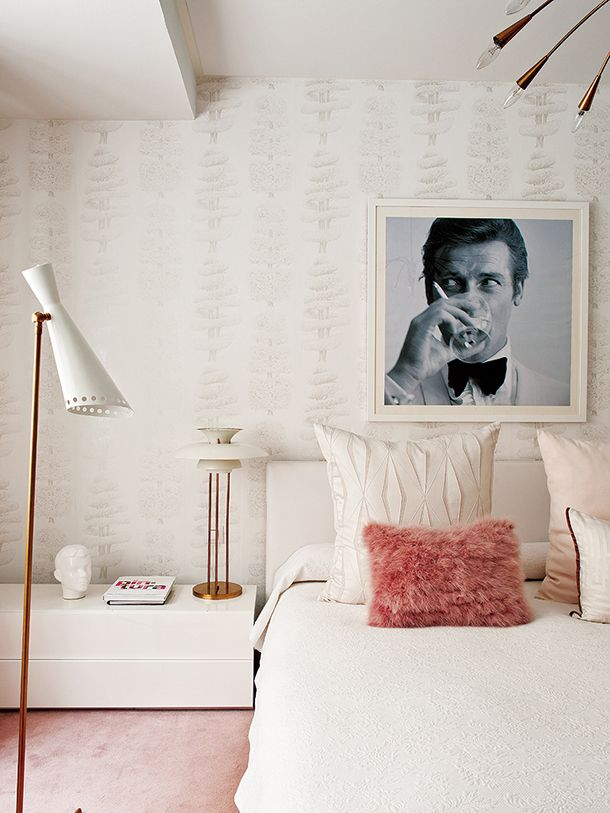 Fun and Feminine Bedroom Interiors