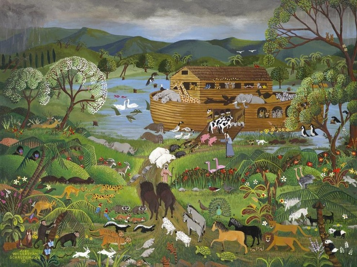 Noah S Ark Painting For Sale