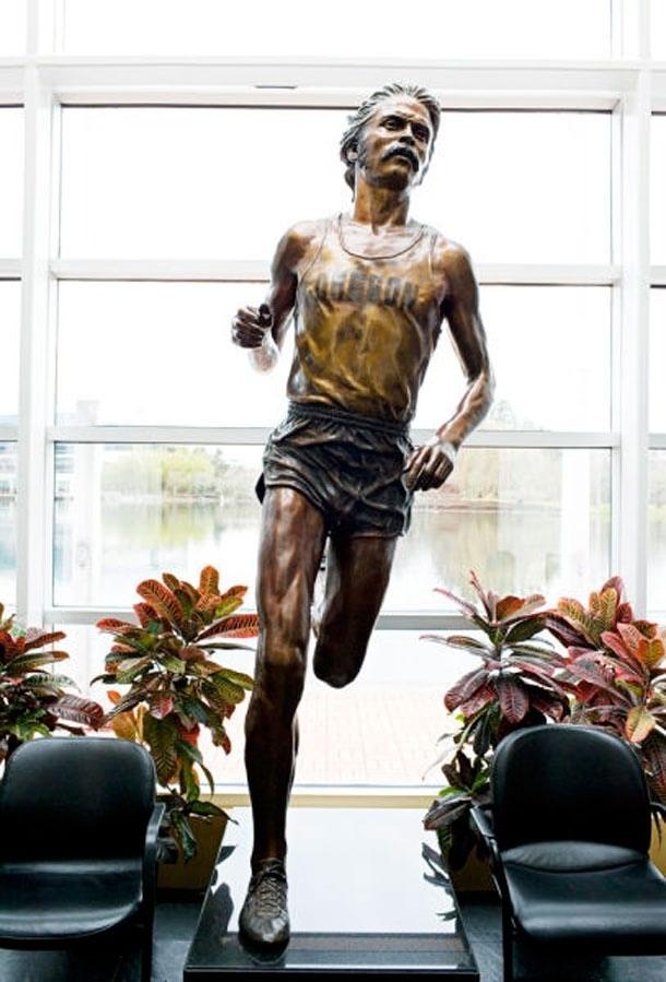 Pre statue in Nike hq