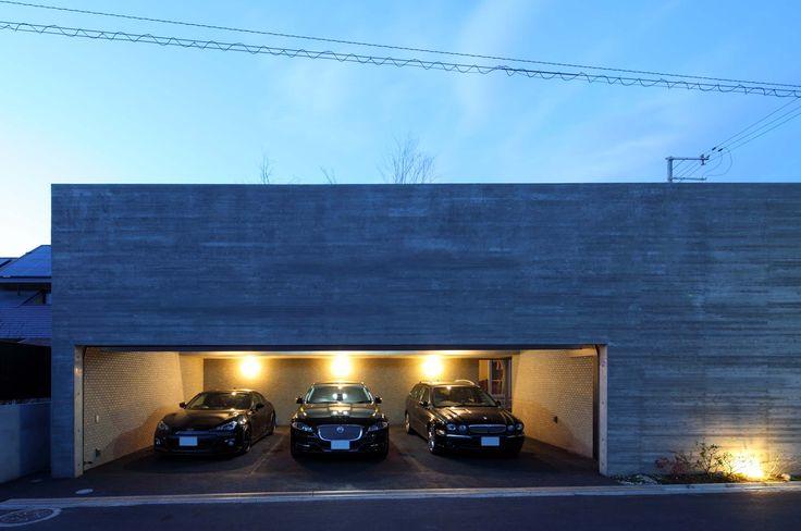 デザイナーズハウス・注文建築・自由設計・建築家 アーキッシュギャラリー(東京・名古屋・大阪)Achish&Gallery #ガレージハウス #杉板型枠 #RC造