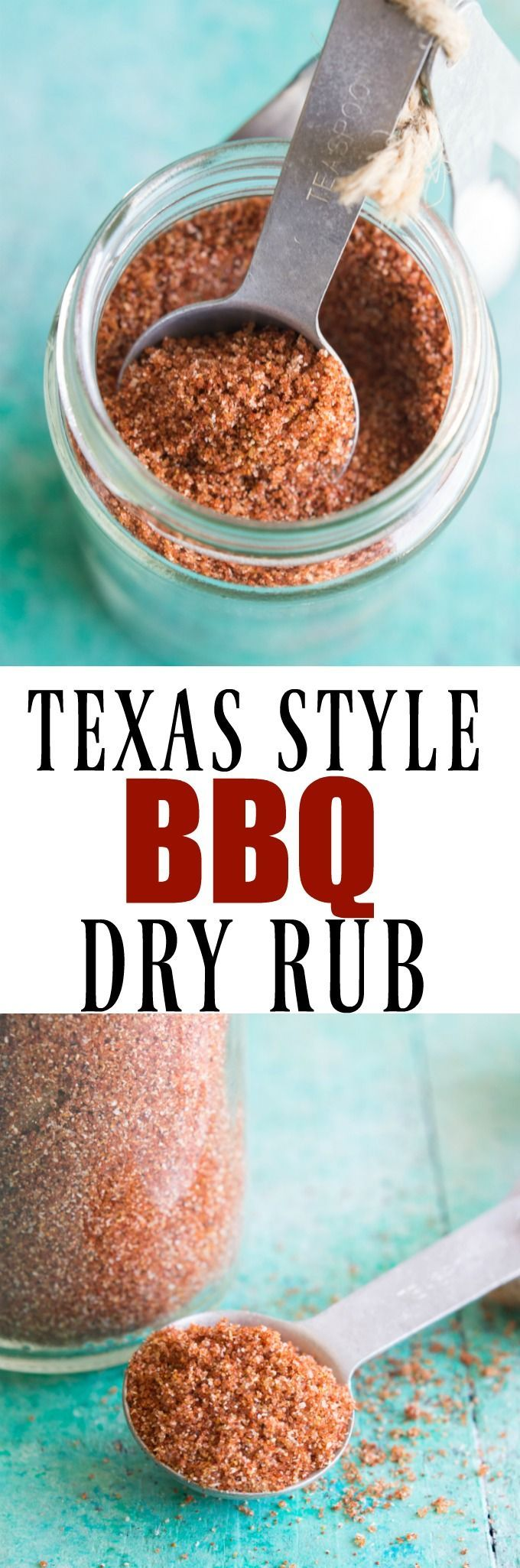 Texas Style BBQ Dry Rub. This sweet and spicy dry rub is perfect for all your grilling and BBQ needs! The sweet brown sugar mingled with the spicy chili powder gives the best of both worlds. This rub is perfect for steaks, chicken, pork, anything you desire!