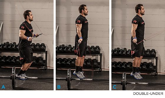 Train With The Worlds Fittest Man: Rich Froning CrossFit Workout! - Double-Under - Bodybuilding.com