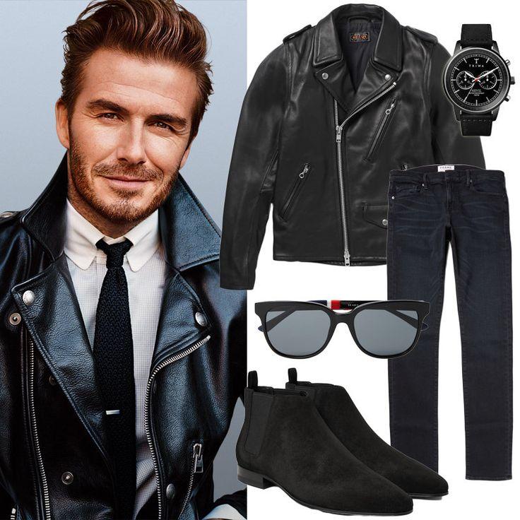 Snygg stil: Bikerjacka och jeans - Metro Mode