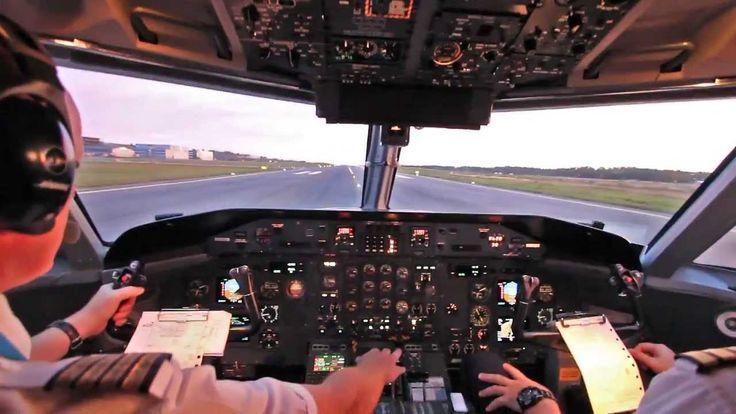 Dash 8-300 Takeoff & Landing