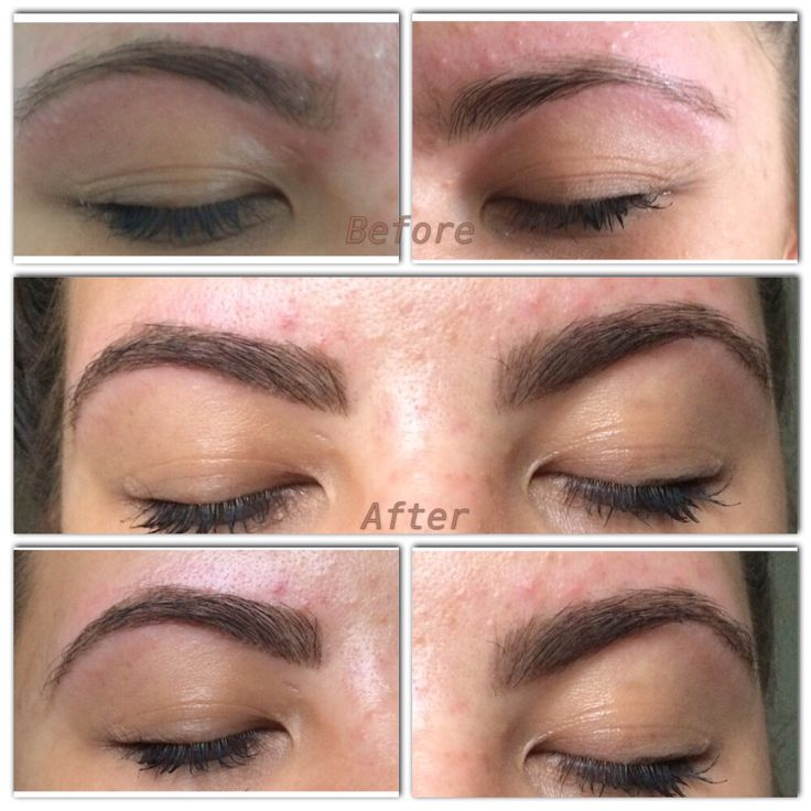 Sleek brows #sculpt