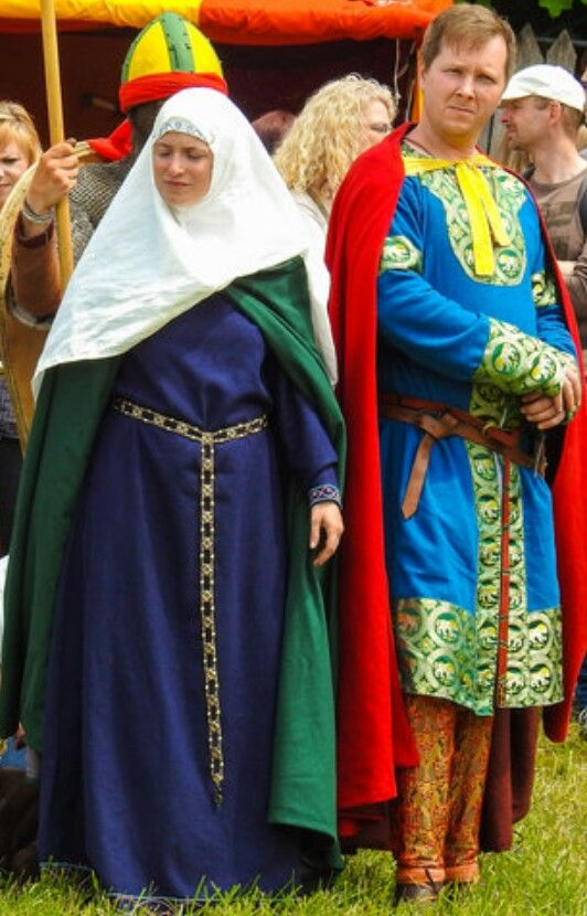Norman Noble and Lady, 11th. century