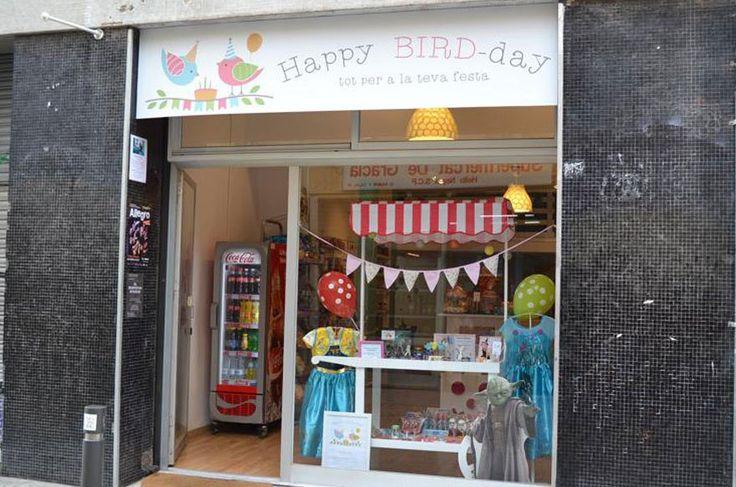 Happy Bird Day, pasteles y fiestas de cumpleaños