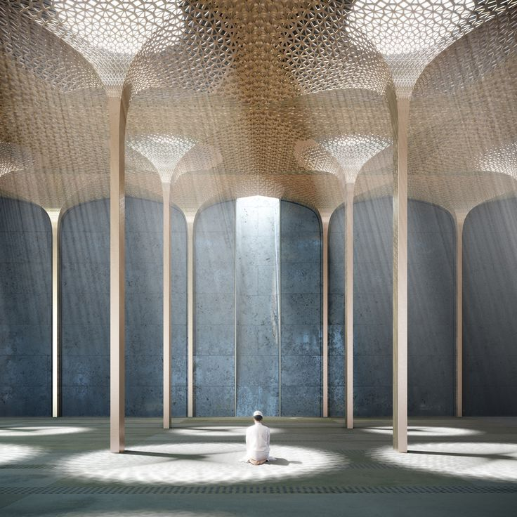 Amanda Levete wins competition to design mosque for Abu Dhabi's World Trade Center