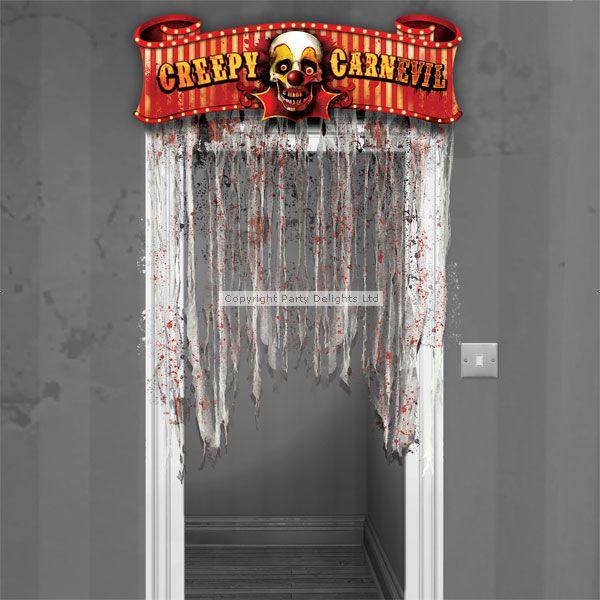 Creepy Clown Door Decoration