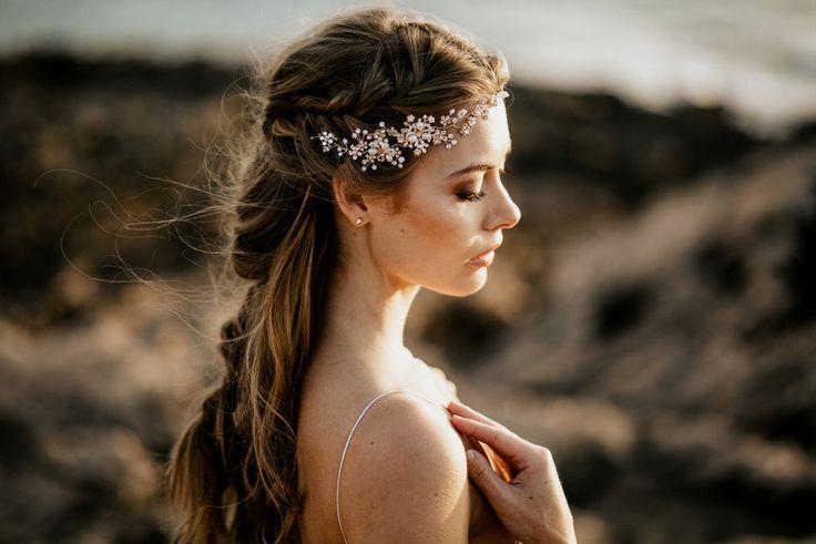 "Headpieces & Fascinators - Haarband Halo ""Ruth"" Haarschmuck La Chia - ein Designerstück von LaChia bei DaWanda"