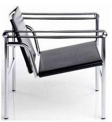 Sillón Le Corbusier, estilo moderno                                                                                                                                                                                 Más
