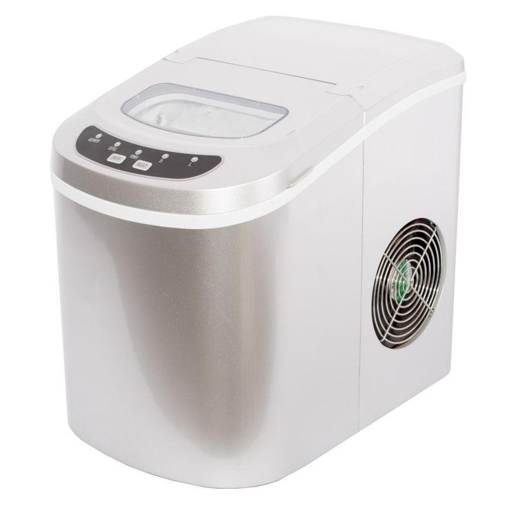 Hot Verkoop Draagbare Mini Ijsblokjesmachine Aanrecht Touch Control 26 lb/dag Ice Maker Machine voor Thuis en Bar-Zilver