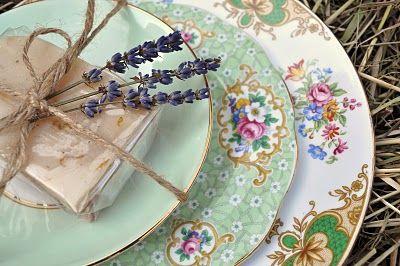 cake stand heaven: Mismatched Vintage China Gift Sets