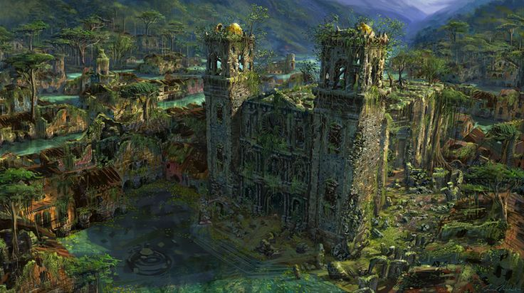 Drowned City Cathedral from Uncharted: Drake's Fortune