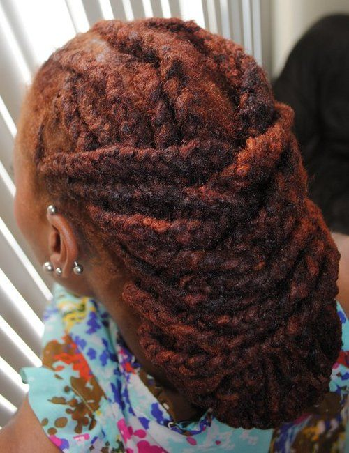 Locs.. I'm in love with this style and color!!!