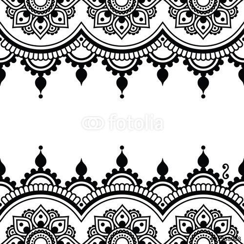 Mehndi Patterns Vector : Best stencil patterns images on pinterest