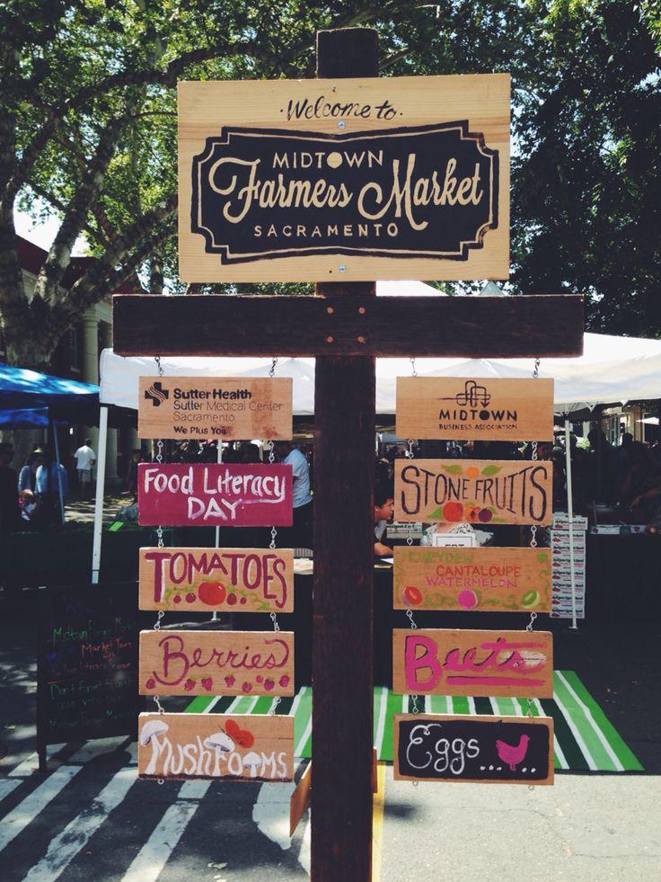 Midtown Farmer's Market in Midtown Sacramento, Ca