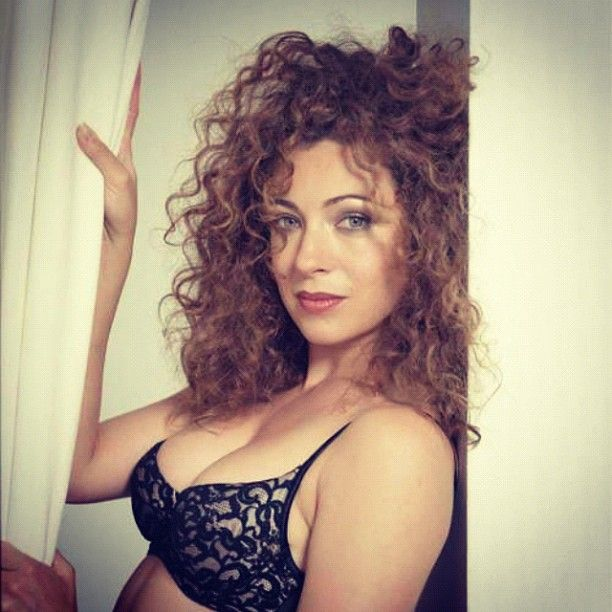 "Who knew Alex Kingston was so hot when she was younger?! As the Doctor would say, ""Yowza!"""