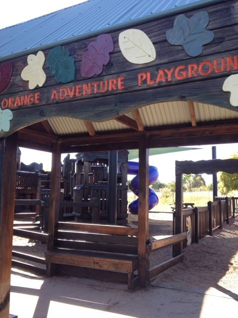 One of the best playgrounds we've ever found in Orange NSW http://www.mastermindmusings.com.au/2013/04/visitorange/