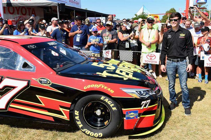 Eric Jones Driving The #18 JGR Toyota Camry At Kansas Speedway | Nascar |  Pinterest | Eric Jones And NASCAR