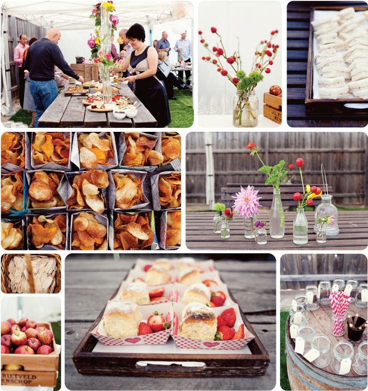 BBQ engagment party