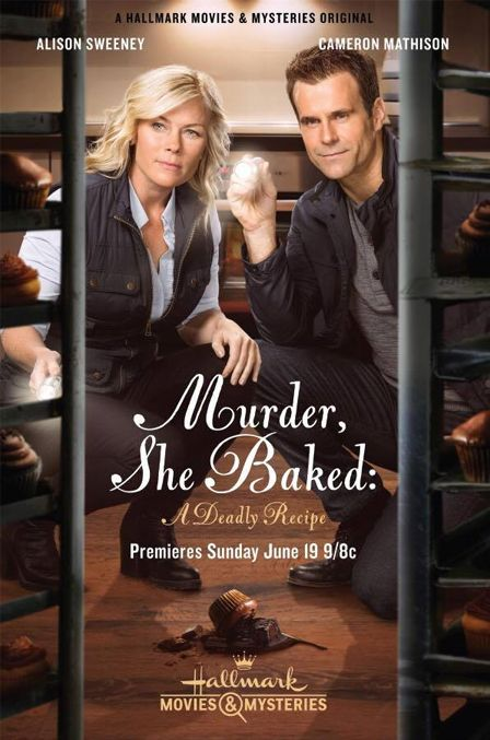 """Its a Wonderful Movie - Your Guide to Family Movies on TV: Alison Sweeney and Cameron Mathison star in """"Murder She Baked: A Deadly Recipe"""""""