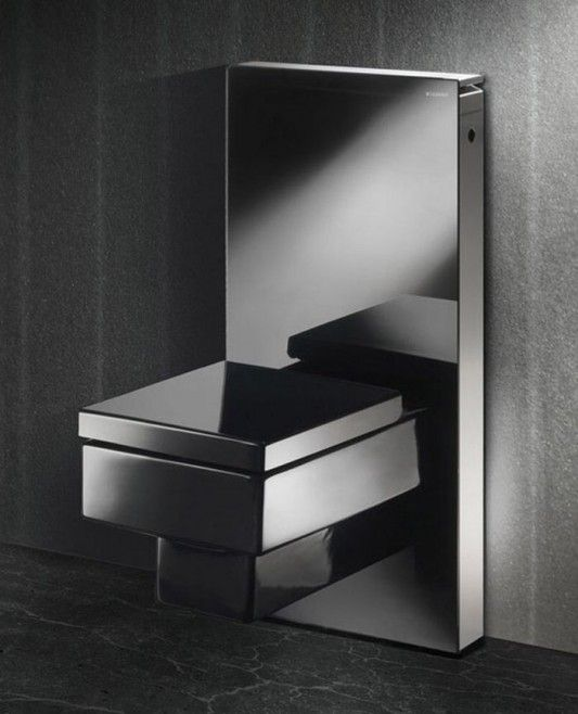 elegant and simple modular toilet design by geberit