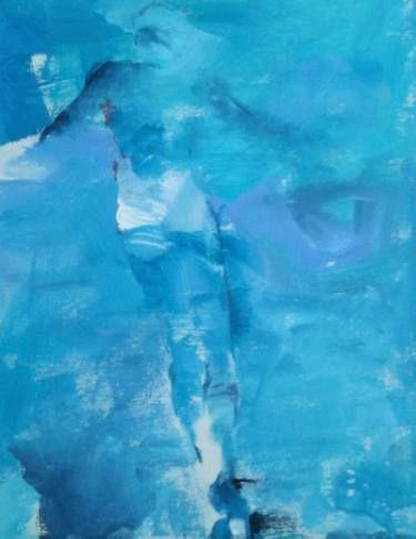 "Saatchi Art Artist Kjersti B Sveberg; Painting, ""way back"" #art"