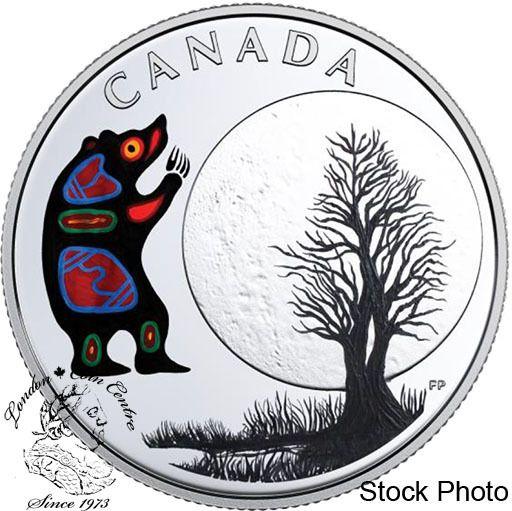 London Coin Centre Inc. - Canada: 2018 $3 The Thirteen Teachings From Grandmother Moon: Bear Moon Fine Silver Coin, $49.95 (http://www.londoncoincentreinc.com/canada-2018-3-the-thirteen-teachings-from-grandmother-moon-bear-moon-fine-silver-coin/)