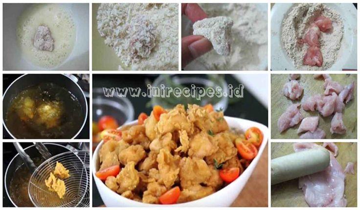 Resep Chicken Pop Corn Ala KFC Yang Kriuk dan Gurihhh
