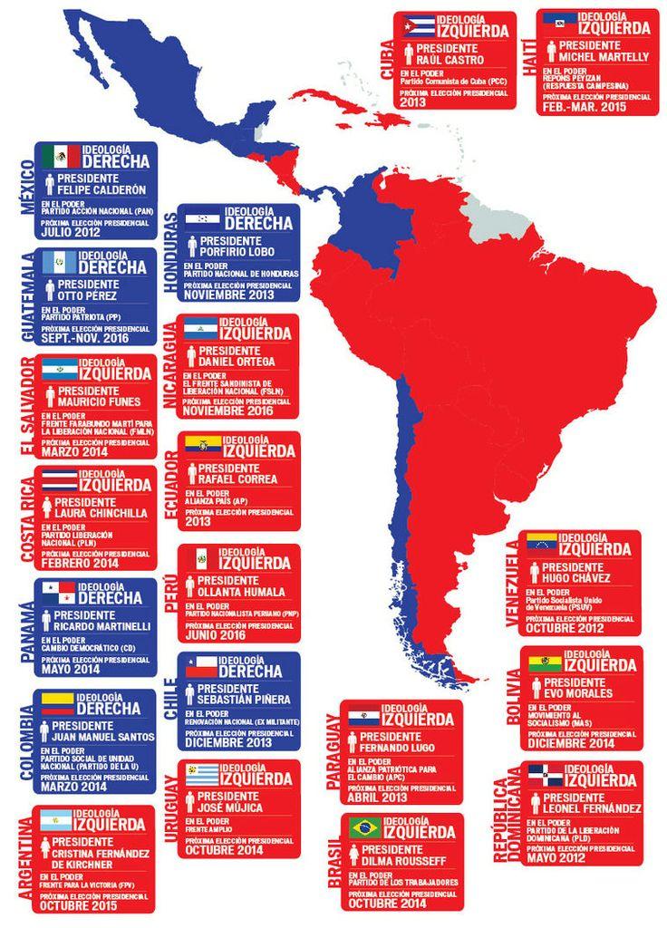 Ms de 25 ideas increbles sobre Mapa america latina en Pinterest