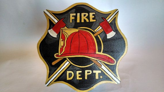Fire Fighter Cookie Jar Lid by MTDesignsCrafts on Etsy, $20.00