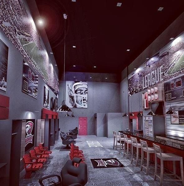 Cool Things To Put In A Basement: Fun Rooms -- Sports Theme Man Cave