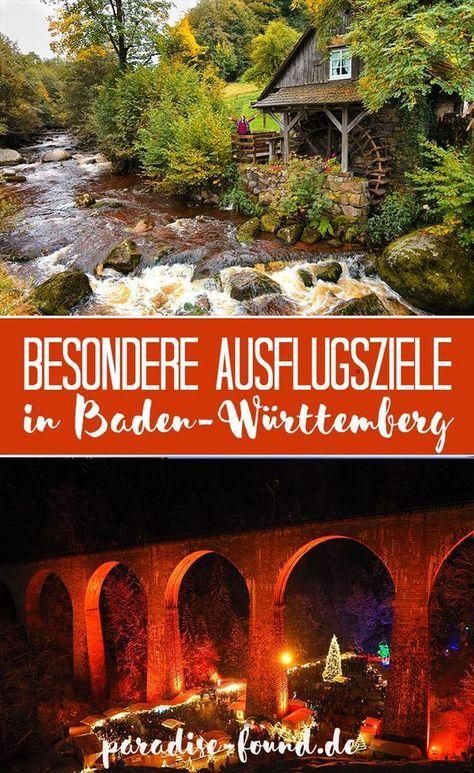 Besondere Ausflugsziele in BadenWürttemberg