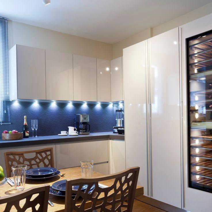 Sem Collections, Emirgan Waterside project... Valcucine kitchen.