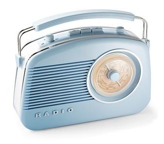 Aquesta la tinc, en color crema. Bush Radio