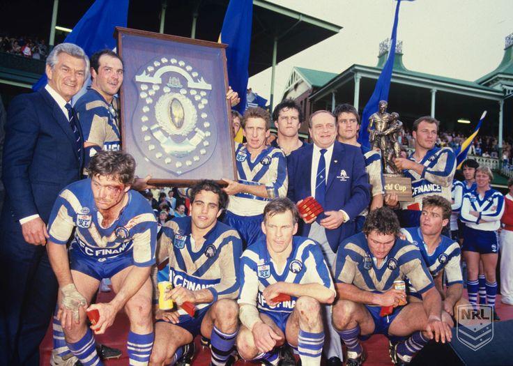 Canterbury-Bankstown Bulldogs - 1985 #NRL Premiers