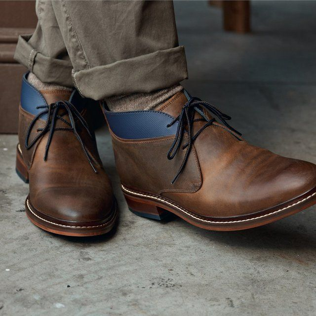 1000  ideas about Leather Chukka Boots on Pinterest | Men's dress ...