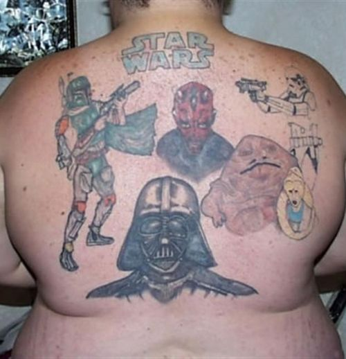Hey-O! It Bad TaToos Day! 27 of the Worst Star Wars Tats!