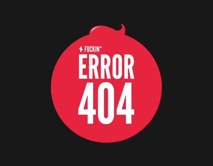 404 Page | Web Design | Inspiration